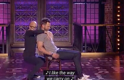 Joel McHale and Jim Rash on Lip Sync Battle