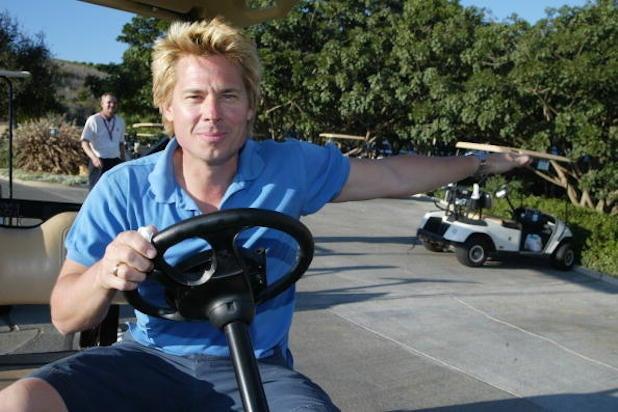 Kato Kaelin Wendie Jo Sperber golf