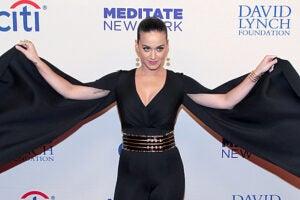 Katy Perry David Lynch Foundation
