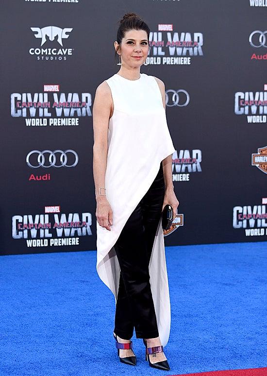 Marisa Tomei at Captain America: Civil War