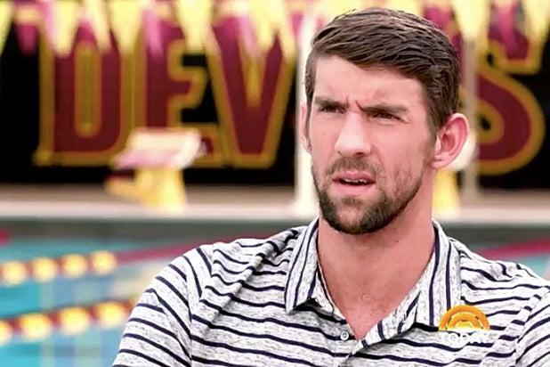 Michael Phelps Today Show