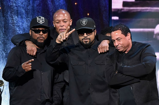 NWA MC Ren Dr Dre Ice Cube Rock and Roll Hall of Fame