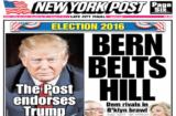 NY Post endorses Donald Trump