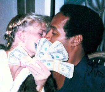 OJ Simpson Nicole Brown cash