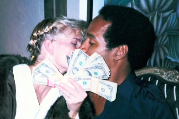 OJ Simpson Nicole Brown cash