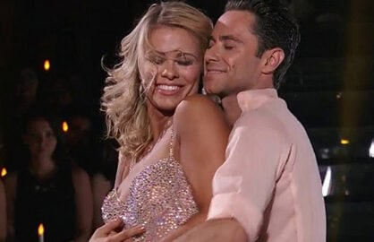 Paige VanZant and Sasha Farber Dancing With the Stars