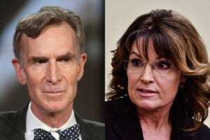 Sarah Palin about Bill Nye