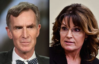Sarah Palin about Bill Nye