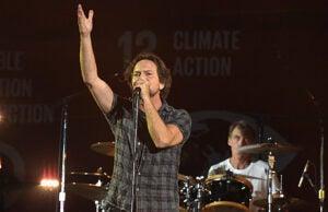 Eddie Vedder and Pearl Jam
