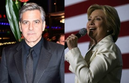 Hillary Clinton Holds Private Meeting with Hollywood Big Wigs