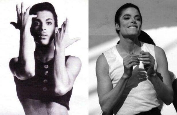Prince and Michael Jackson 2