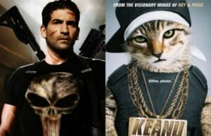 The Punisher and Keanu