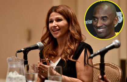 Rachel Nichols and Kobe Bryant
