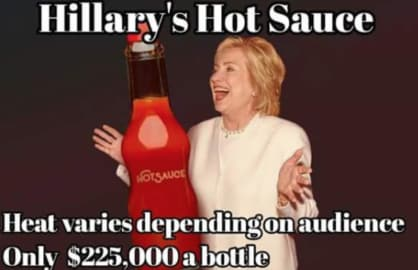 Hillary Clinton Gets Crucified on Twitter for Hot Sauce Comment