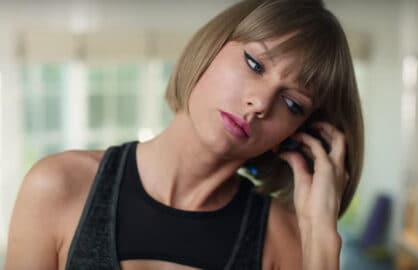 Taylor Swift Apple Music Ad