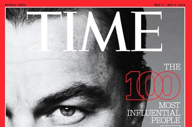 2016 Time 100 most influential people