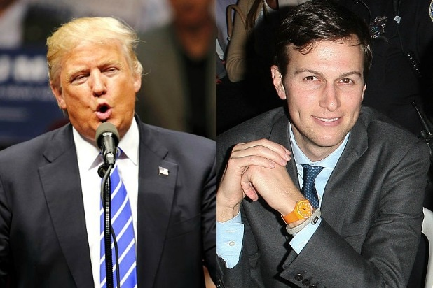 Donald Trump Gets Fawning Endorsement From Son-in-Law's Newspaper