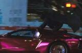 batman on joker's car suicide squad