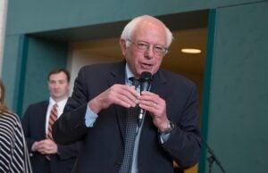 Bernie Sanders Holds Town Hall Meeting In in Wausau, Wisconsin