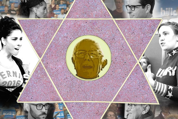 bernie sanders hollywood jews jewish