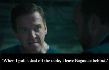 billions damian lewis words
