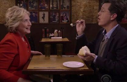 Stephen Colbert Interviews Hillary Clinton