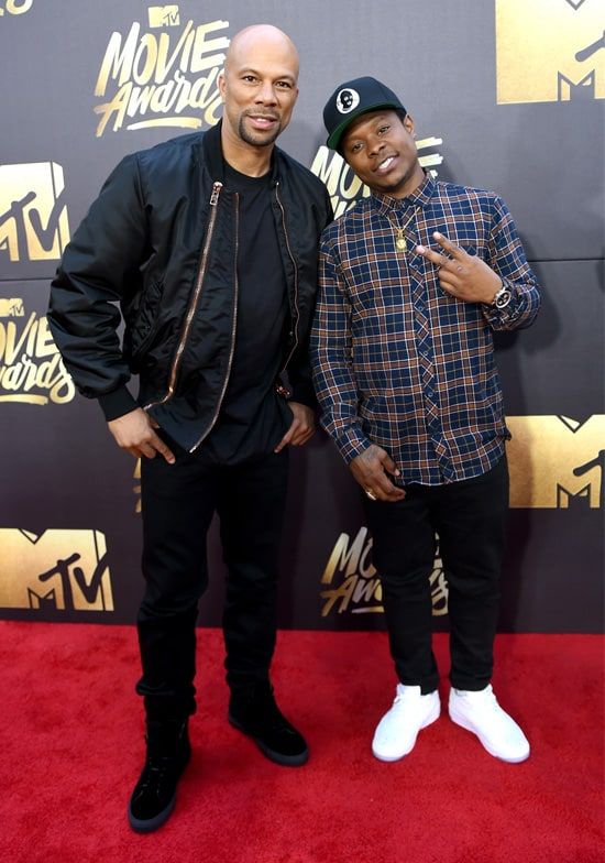 mtv movie awards common, jason mitchell