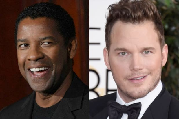 denzel washington chris pratt magnificent seven