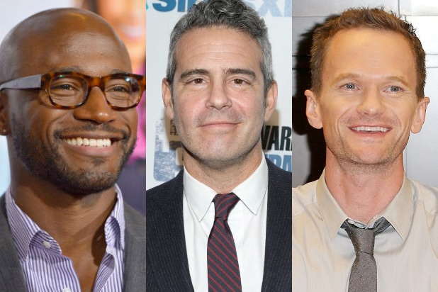 taye diggs, andy cohen, neil patrick harris, michael strahan replace
