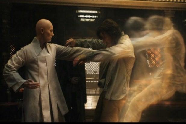doctor strange tilda swinton benedict cumberbatch