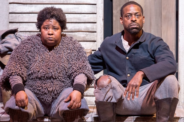 Patrena Murray and Sterling K. Brown in