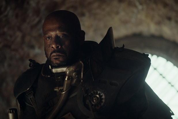 6bc8ff2c40c49 Rogue One': Forest Whitaker Plays 'Clone Wars' Character