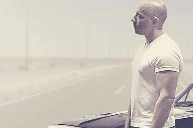 Vin Diesel shares the poster of 'Fast & Furious 8'