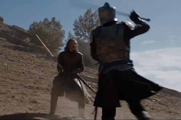 game of thrones best fights ned stark ser arthur dayne