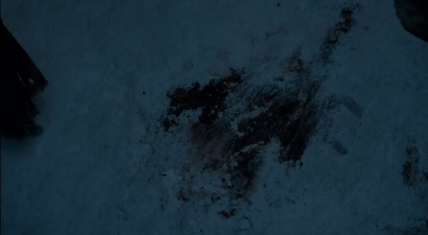 game of thrones jon snow blood