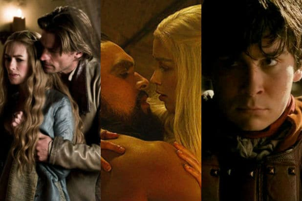 Sexy scenes in game of thrones
