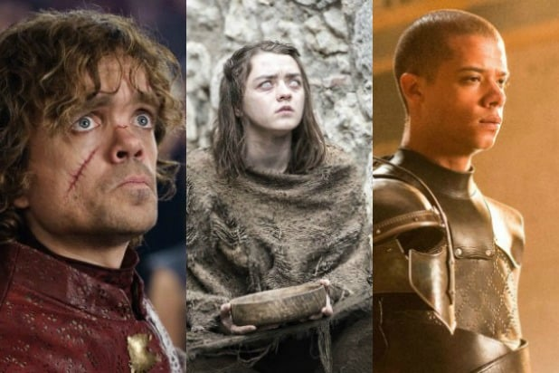 game of thrones top 20 characters split