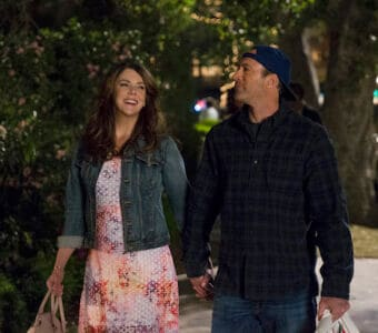 """Characters Luke and Lorelei hold hands in Netflix's revival of """"Gilmore Girls"""""""