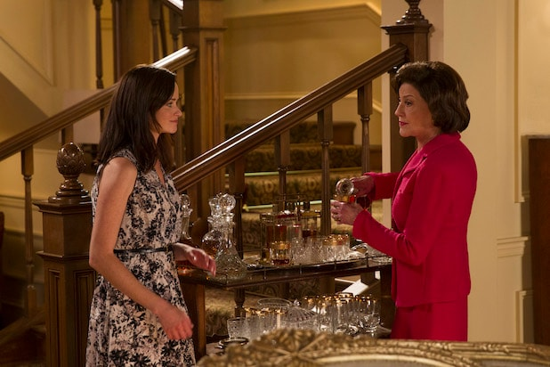 "The characters Emily and Rory in Netflix's revival of ""Gilmore Girls"""