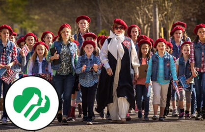 Girl Scouts on The Boss