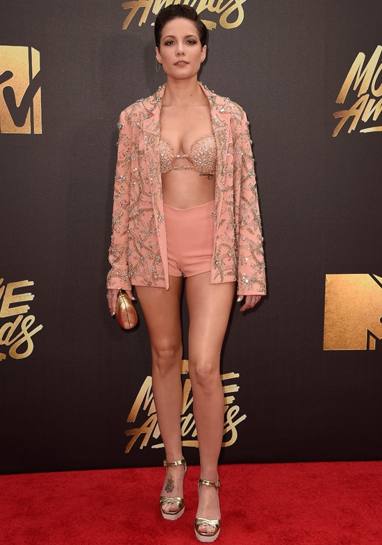 halsey mtv movie awards