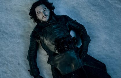 Jon Snow on Game of Thrones