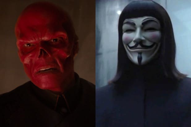 hugo weaving red skull v for vendetta