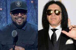 Ice Cube Gene Simmons