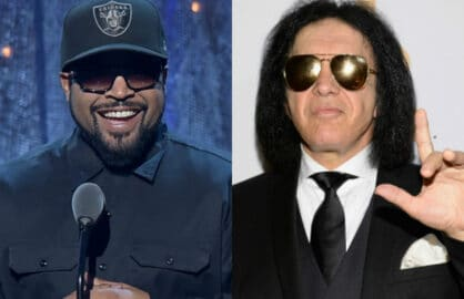 Ice Cube Gene Simmons