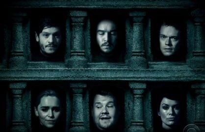 james corden game of thrones
