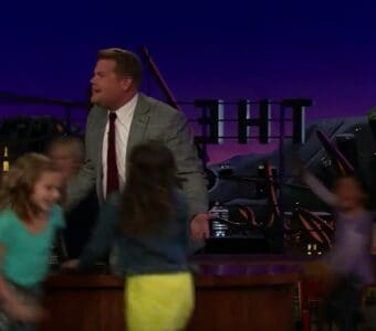 james corden take your kid to work day