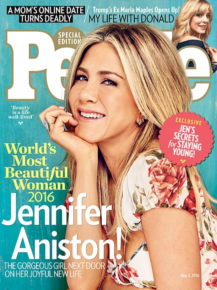 jennifer aniston people most beautiful woman