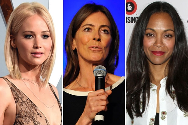 jennifer lawrence kathryn bigelow zoe saldana