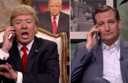 Jimmy Fallon Donald Trump Ted Cruz